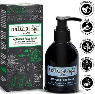 natural vibes face wash