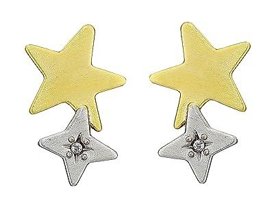 Kendra Scott Jae Star Ear Climber Earrings (Mixed Metal) Earring