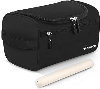 Toiletry Organiser Hanging Shower Bag for Men Women Handy Dopp Kit with Toothbrush Case for Bathroom Gym Makeup Travel Vac...