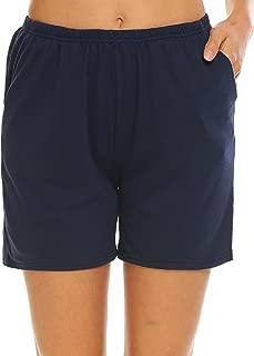 Pajama Bottoms Women's Soft Sleep Shorts Cotton Solid Sleepwear Pants S-XXL