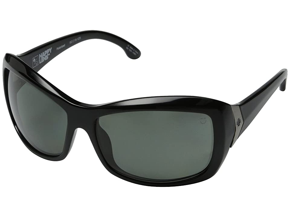 Spy Optic Farrah (Black/Happy Gray Green Polar) Sport Sunglasses