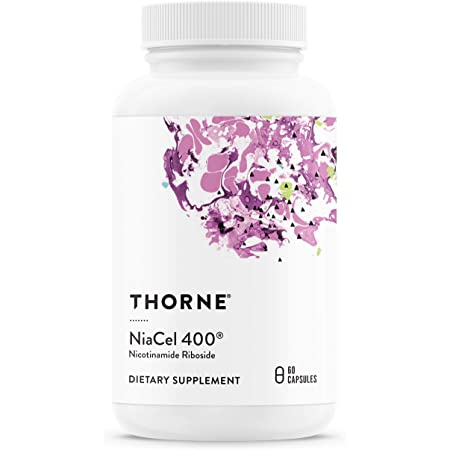 Thorne Research - NiaCel 400 - Nicotinamide Riboside - 60 Capsules