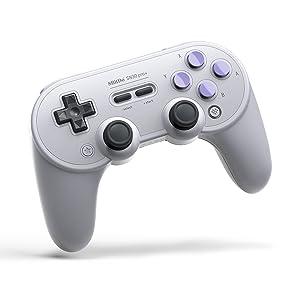 8Bitdo Sn30 Pro+ Bluetooth Gamepad (Sn Edition) - Nintendo Switch
