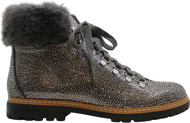 INC Womens Pravale Faux Boots Fur Nashville-Davidson Mall Winter Lace-Up Sale Special Price