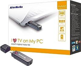 AVERMEDIA AVerTV Hybrid Volar HD - Sintonizador de TV (DVB-T, H.264, MPEG2, USB, FM, 5V) Negro