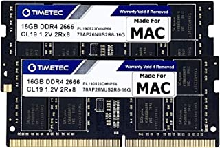 Timetec Hynix IC 32GB Kit(2x16GB) Compatible for Apple DDR4 2666MHz for Mid 2020 iMac (20,1/20,2) / Mid 2019 iMac (19,1) 2...