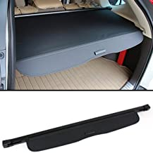 Cuztom Tuning Retractable Cargo Cover Luggage Shade Fits for 2012-16 Honda CR-V CRV - Black Color