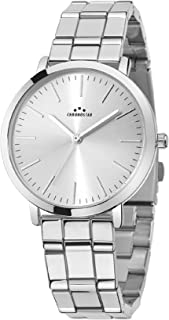 Chronostar R3753258502 Synthesis Year Round Analog Quartz Silver Watch
