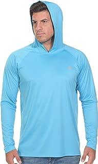 PIQIDIG Fishing Shirts for Men Long Sleeve - Sun Protection SPF 50+ UV Tshirt Hoodies