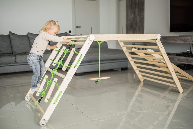 ransformable Pickler Kids Triangle dreieck Playhouse Adjustable Montessori Ladder Toy Climber Toddler pikler Gym Slide Foldable Activity 1. Pirate