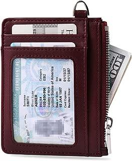 Valkit Front Pocket RFID Blocking Wallets Credit Card Holder for Women Men