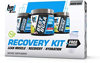 BPI SPORTS, Recovery Kit, Best BCAA, Strength Gainz, BPI EAAS, (Free Shaker Included)