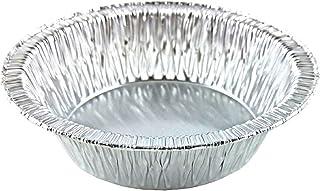 Molde para pastel desechable de papel de aluminio (12,7 cm) - Moldes pequeños para hornear para alimentos fríos y calientes hechos en los EE. UU. (Paquete de 50)