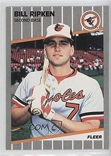 Billy Ripken Billy Ripken (Baseball Card) 1989 Fleer - [Base] #616.1