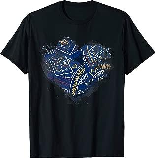 Ukrainian Easter Eggs Heart Design   Pashka Orthodox Easter T-Shirt