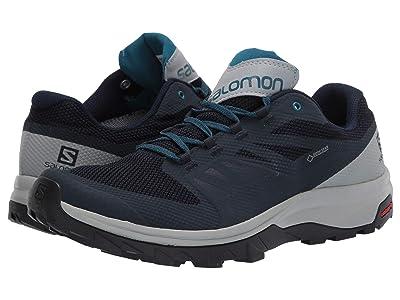 Salomon Outline GTX(r) (Navy Blazer/Quarry/Lyons Blue) Men