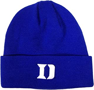 Duke Blue Devils Official NCAA One Size Simple Cuffed Knit Beanie Hat