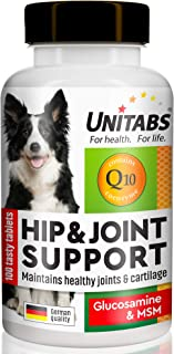 Hip & Joint Support for Dogs with MSM: Advanced Glucosamine Chewable Supplement - Arthritis and Pain Relief - Skin & Coat ...