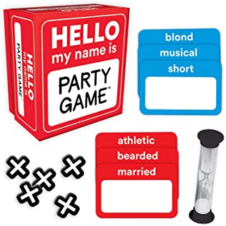Hello My Name is... Party Game