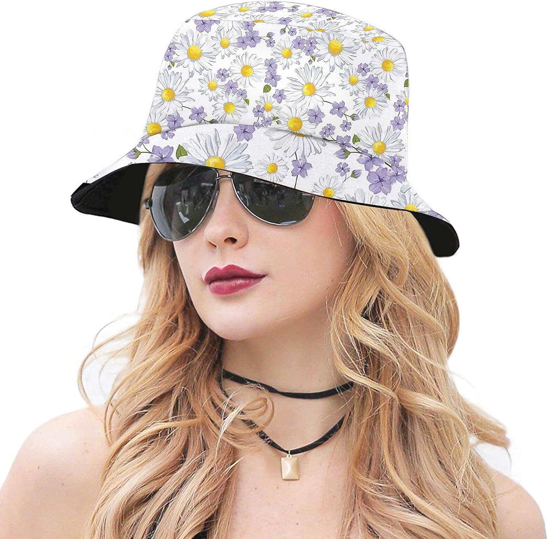 Adult Bucket Hat,Packable Cap Travel Beach Sun Hat