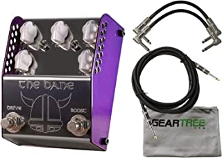 ThorpyFX The Dane Boost Drive Dual Effects Pedal w/Geartree Cloth and 3 Cables