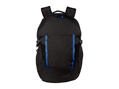 The North Face Pivoter Backpack (TNF Black Heather/TNF Blue) Backpack Bags