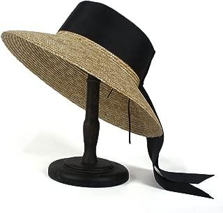 Bin Zhang 100% Wheat Straw Summer Women Beach Sun hat For Elegant Lady Sunhat