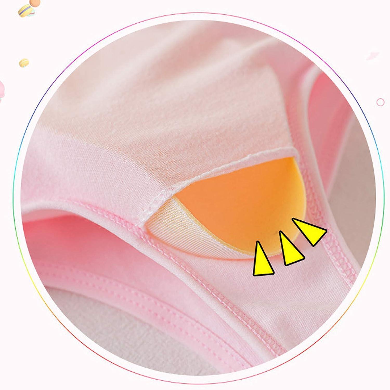 Clothes for Boys and Girls Girls Tops Kids Girls Underwear Foam Bra Vest Children Underclothes Sport Undies Clothes