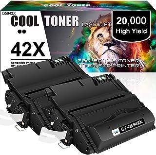 Cool Toner Compatible Toner Cartridge Replacement for HP 42X Q5942X 38A Q1338A Q5942XD HP Laserjet 4250 4200 4350 4300 425...