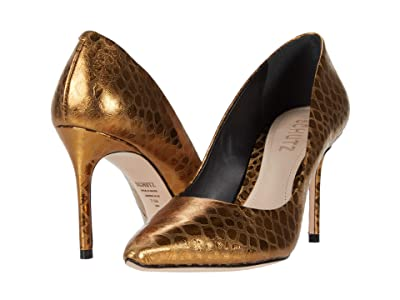 Schutz Rosie (Soft Croco/Bronze) Women