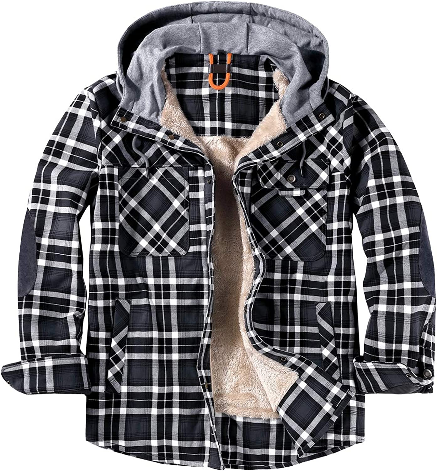 EUSMTD Mens Outdoor Casual Long Sleeve Corduroy Plaid Shir Thick Max Max 41% OFF 90% OFF