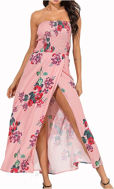 Summer Dresses for Women Backless Super intense SALE Dress Casual Strapless Great interest