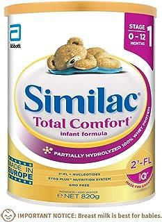 Similac Total Comfort, Stage 1, Infant formula, 0-12 months, 820g