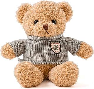 ぬいぐるみ くま セーター ふわふわ 35cm ベージュ ASH LOVERS アッシュラバーズ 動物 熊 子供 キッズ こども 女の子 誕生日 ギフト