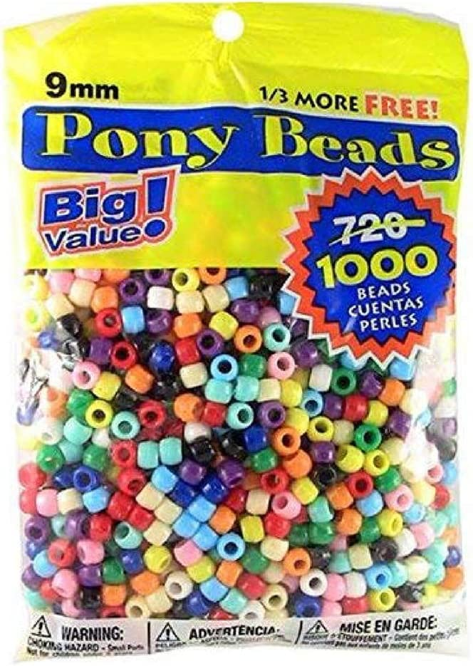 Multicolor Heart Pony Beads for Crafts Kids Jewelry Making Spacer Beads Heart Shaped Pony Beads Counting Sorting Colorful Heart Beads