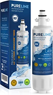 Kenmore 9690 & LG LT700P Certified Water Filter Replacement. Compatible with Kenmore Elite Water Filter 9690,Kenmoreclear 46-9690 LG LT700P, LG ADQ36006101. - PURELINE Platinum