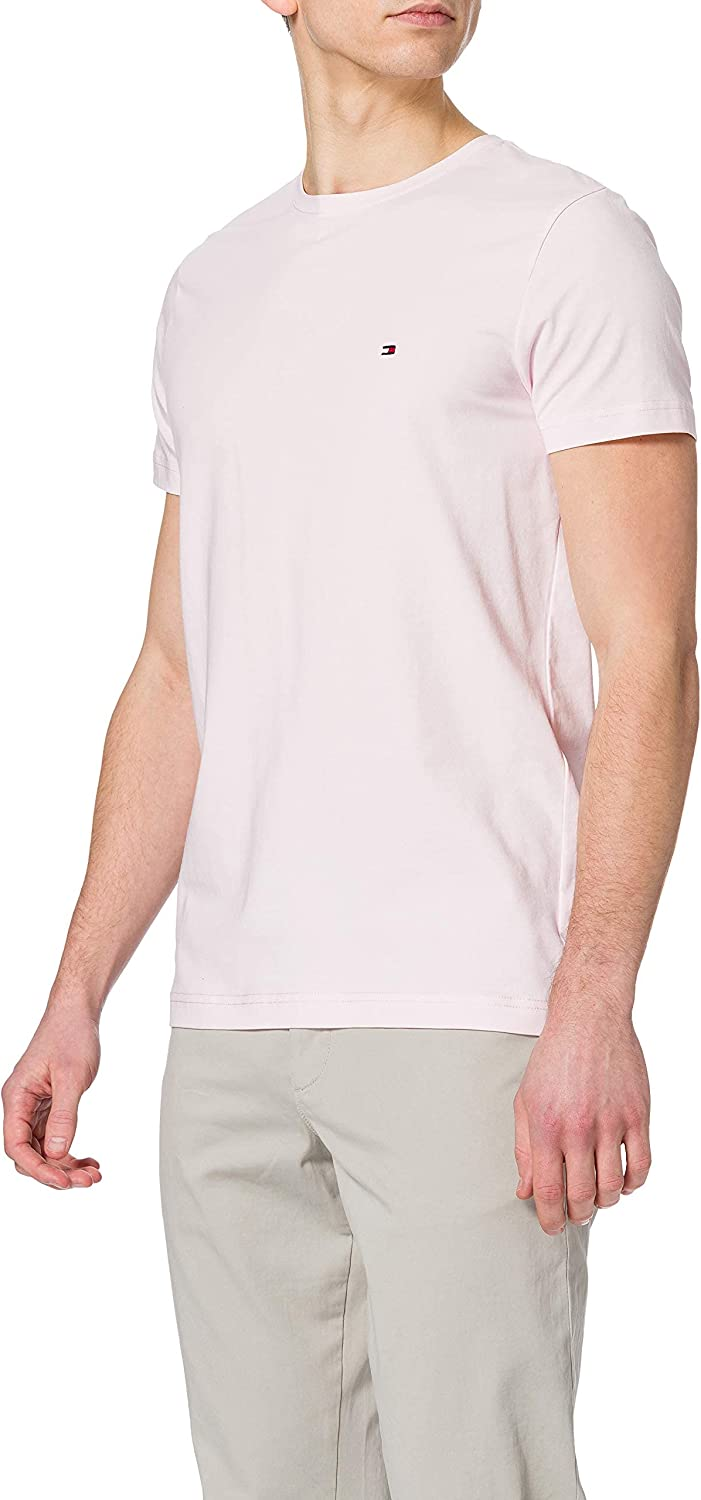 Tommy Hilfiger TH Stretch Slim Fit tee Camiseta para Hombre