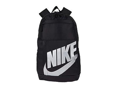 Nike Elemental Backpack 2.0 (Black/Black/Metallic Silver) Backpack Bags