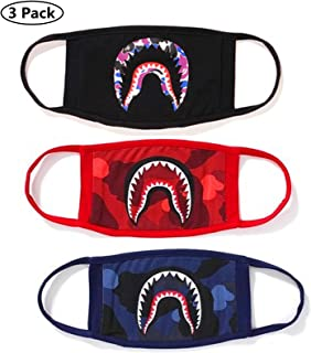 red bape shark mask