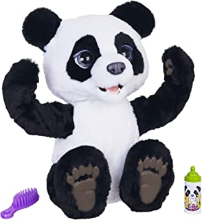 Furreal Plum, The Curious Panda Bear Cub Interactive Plush Toy, Ages 4 & Up (Amazon Exclusive)