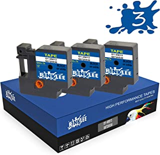 Printing Saver 15x D1 45018 S0720580 Negro Sobre Amarillo 12 mm x 7 m Cinta Compatible para Impresoras de Etiquetas DYMO LabelManager LM 100 160 200 210D 280 360D 420P 500TS PnP LabelWriter 450 Duo