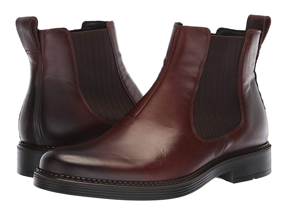 ECCO Newcastle Boot (Cocoa Brown) Men
