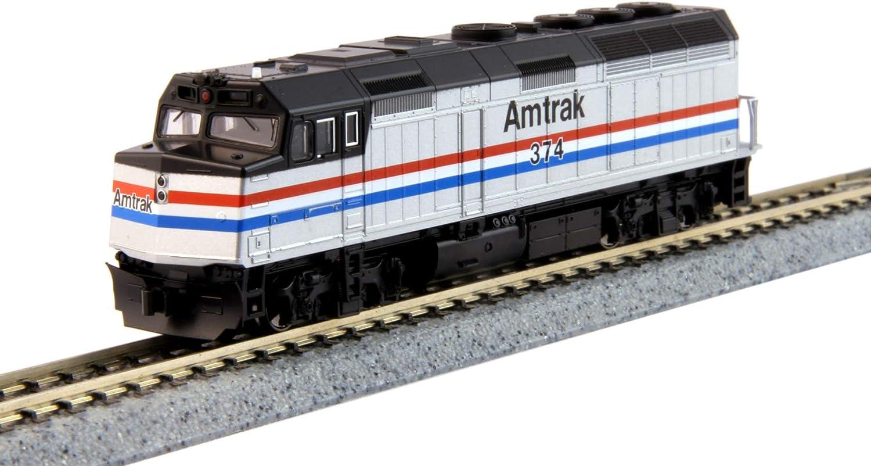 Kato Spur N EMD F40PH Amtrak mit DCC N Amtrak F40PH phiii   374 – DCC