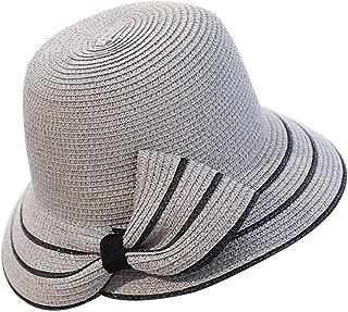 Sun Hat Woman Summer Bow Grass Straw Hat Beach Headdress Hat Pieces Femme Gift Shade