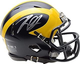 Rashan Gary Michigan Wolverines Autographed Riddell Speed Mini Helmet - Fanatics Authentic Certified