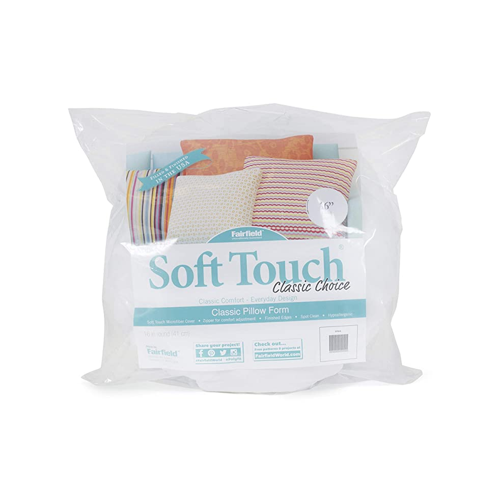 Fairfield Soft Touch Round Pillow, 16-Inch