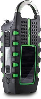Eton NSP101WXGR Scorpion II Digital Radio with Smartphone Charger