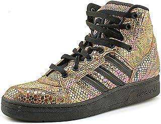 d5203b987cba46 adidas Men ObyO JS Instinct High Rainbow - Jeremy Scott (Black runninwhite)