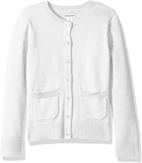 Amazon Essentials Girls' Uniform Cardigan Sweater