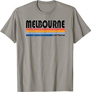 Vintage 70s 80s Style Melbourne, Australia T-Shirt